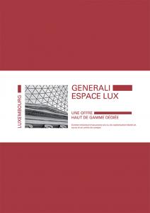 Generali- espace-lux Contrat